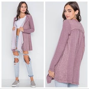 Draped Cardigan For All Year Long